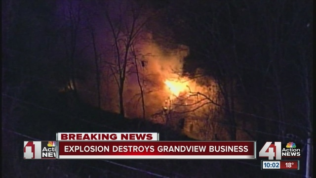 ATF called to explosion, fire at Grandview, MO business
