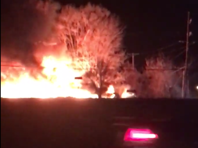Fire and Explosions Rock KC-Area Neighborhood