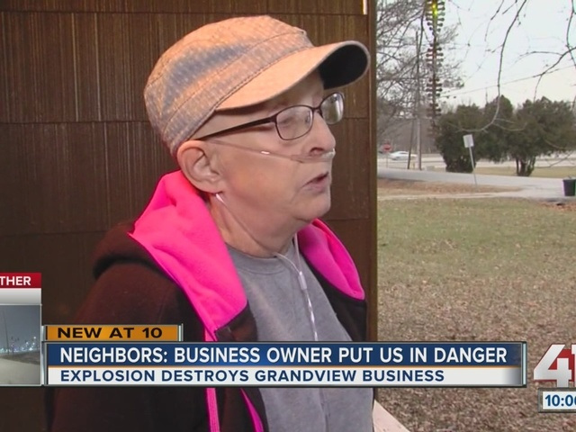 Neighbors say Grandview explosion damaged homes