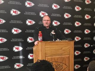 Donovan, Reid talk upcoming Chiefs playoff game