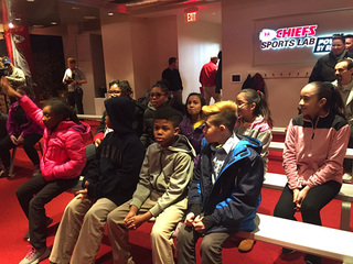 Chiefs host youth for MLK Jr. discussion