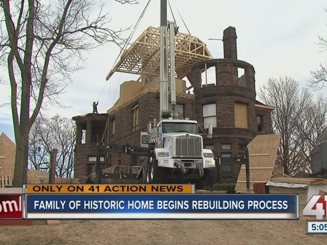 Neighbors Help Rebuild Historic Kansas City Home After Fire 41 Action News
