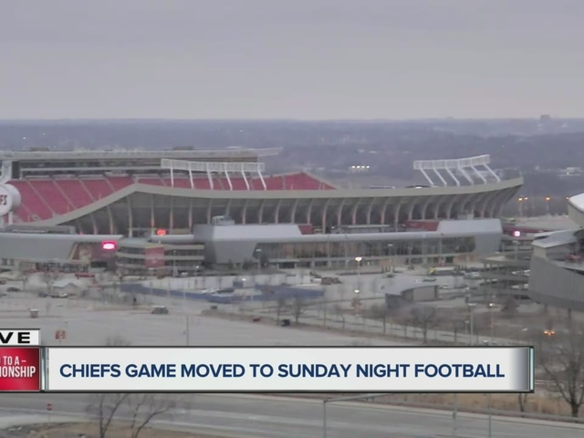 Kansas City Chiefs playoff game against Pittsburgh Steelers moved to primetime