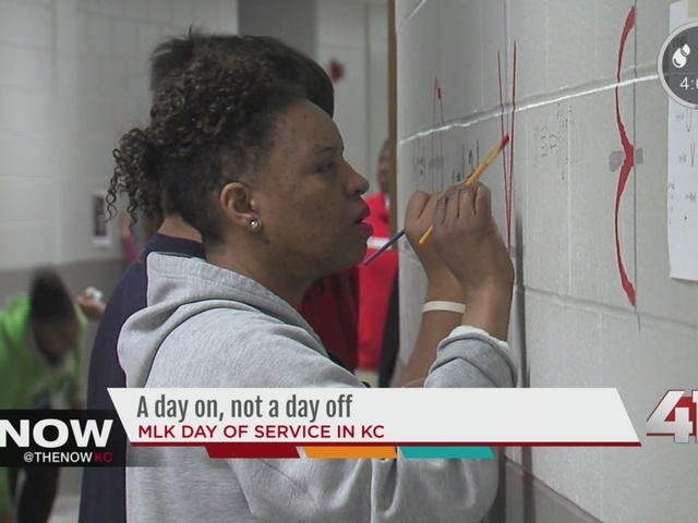 A day on, not a day off: MLK day of service in KC