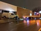 Van crashes into 2 downtown KC businesses