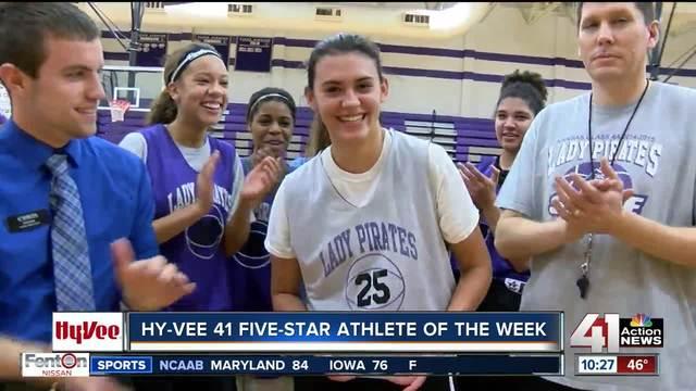Hy-Vee 41 Five-Star Athlete of the Week- Ali Vigil