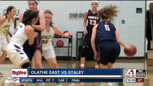 Hy-Vee Game of the Week- Olathe East beats Staley