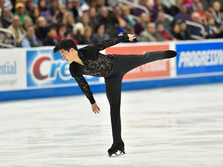 Chen dominates men's figure skating championship