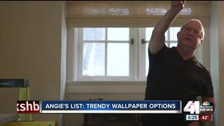 Angie's List: trendy wallpaper options