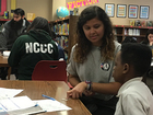 Volunteers helping Melcher Elementary succeed