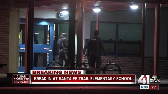 Santa Fe News >> Santa Fe Trail Elementary Broken Into Overnight
