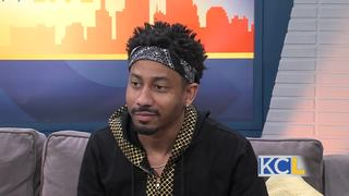 Comedian Brandon T. Jackson Takes The Stage
