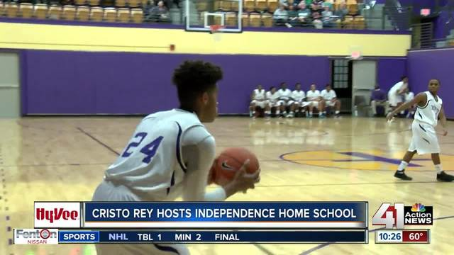 Hy-Vee Game of the Week- Cristo Rey beats Independence Home School
