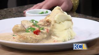 RECIPE: Chicken Marsala with Mashed Potatoes
