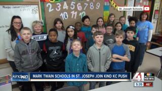 Mark Twain schools in St. Joseph join KindKC