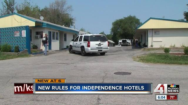 New rules for Independence hotels