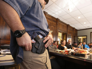 Permit interest drops after MO gun law passed