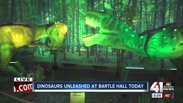 Bartle Hall hosts Discover the Dinosaurs