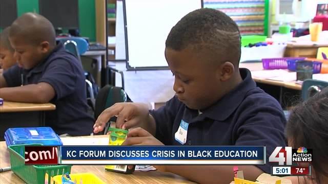 KC forum discusses crisis in black education