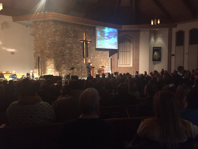 Olathe shooting victims honored during vigil