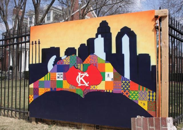 Kansas City Wall Art video: street art that shows kansas city pride - kshb 41