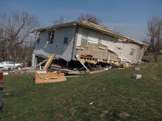 PHOTOS: EF-3 tornado damages homes in Oak Grove