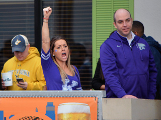 PHOTOS: K-State fans cheer during Big 12 rally