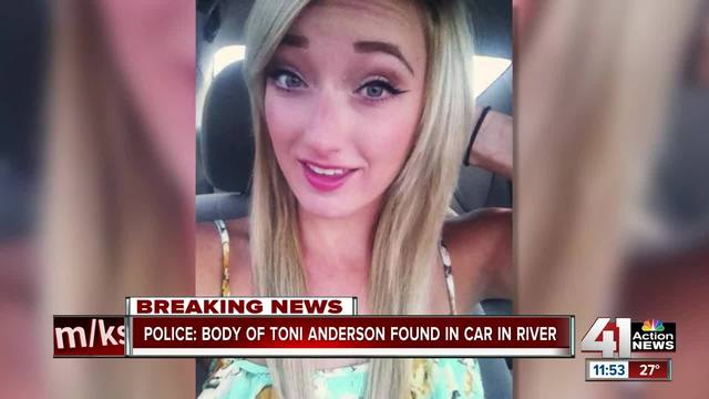 Police confirm body inside auto was Toni Anderson