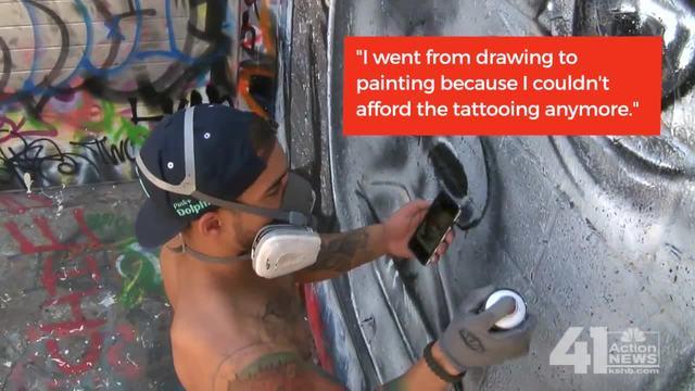 Kansas City Muralist Evan Jackson