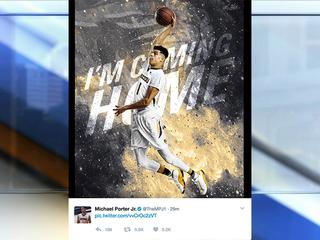 Top prospect Michael Porter Jr. commits to MU