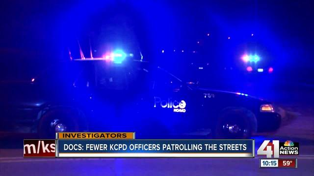 KCPD numbers dropping- response times rising