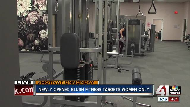 Newly opened Blush Fitness targets women only