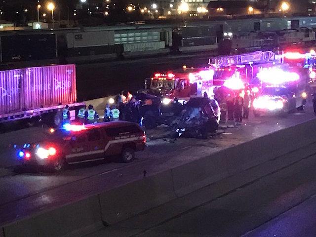 Patrol: Wrong-Way Crash on I-70 in Kansas Kills 2