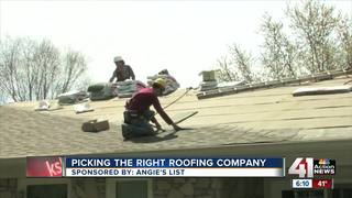 Angie's List: picking the right roofing company