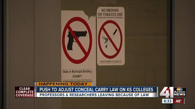 Divisive Kansas concealed carry bill back in the spotlight - KSHB ...