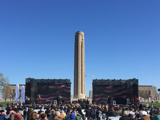 People remember loved ones, history at WWI event
