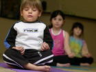 Dreams KC teaches yoga to young students
