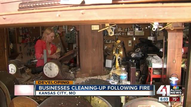 Early Morning Fire Damages Brookside Restaurant Plate