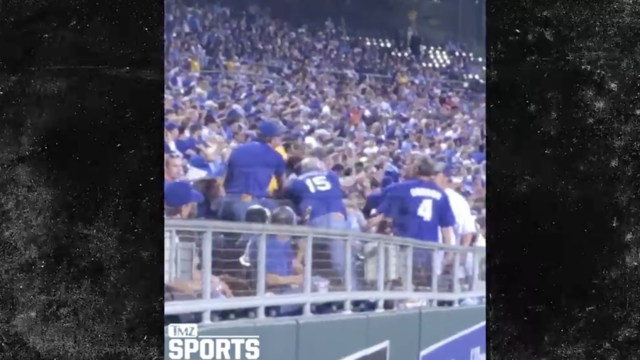 Kansas City Royals Fan Punches Woman In The Face