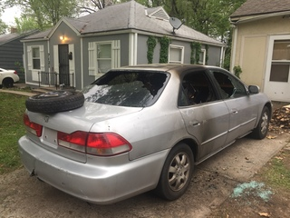 KCMO woman accused of torching sister's car