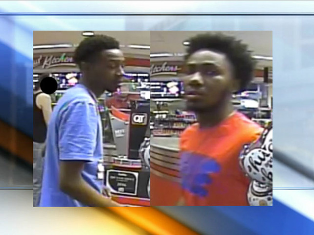 Photos of suspects in Independence QT shooting