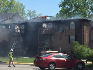 2 children injured in Lenexa apartment fire