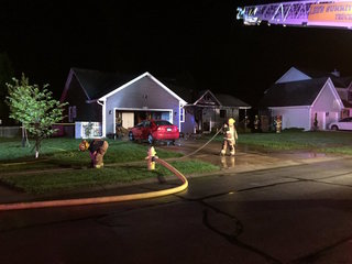 Lee's Summit house fire displaces family