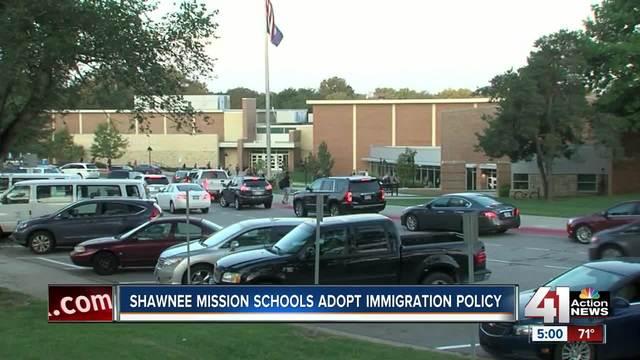 Shawnee Mission schools adopt immigration policy