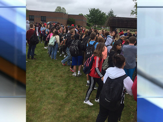Fort Osage High School parents, students protest