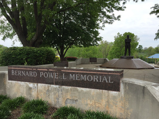 Bernard Powell Memorial Fountain in KCMO