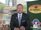 Kirk Herbstreit helping military families