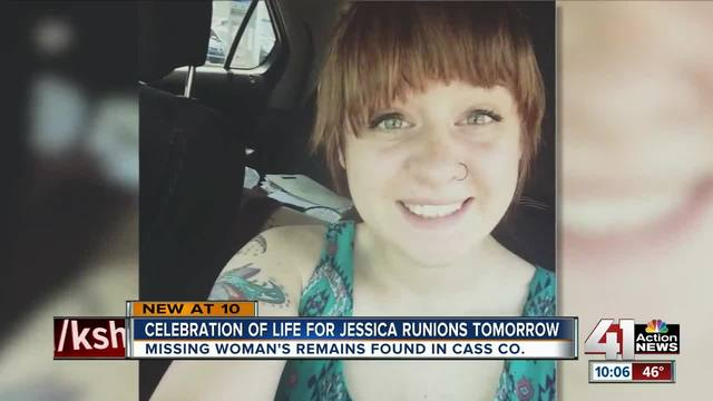 Family and friends to celebrate life of Jessica Runions