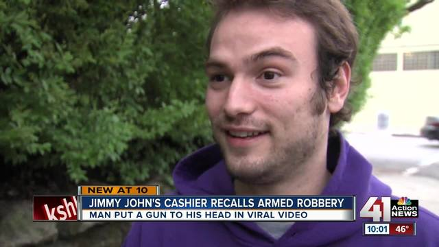KC Jimmy John-s employee talks about staying calm at gunpoint