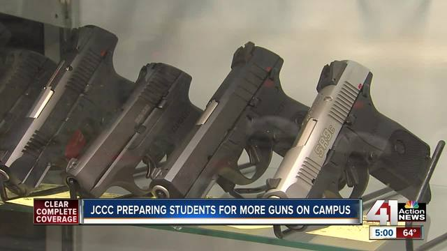 JCCC preparing for changes to Kansas Conceal and Carry law - KSHB ...